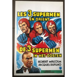 THREE FANTASTIC SUPERMEN IN THE ORIENT