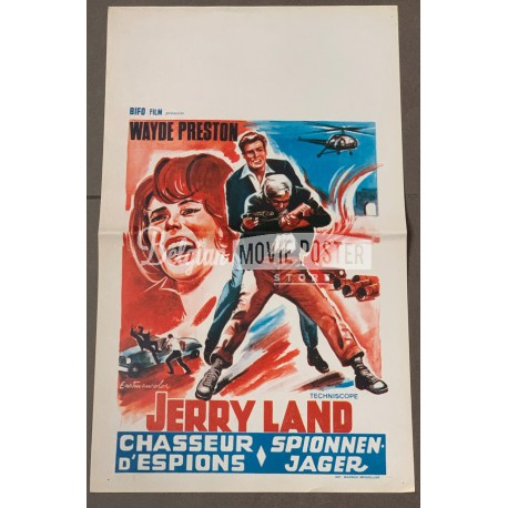 JERRY LAND - MAN ON THE SPYING TRAPEZE