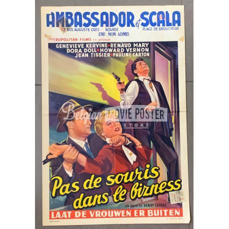 PAS DE SOURIS DANS LE BUSINESS