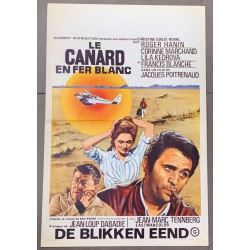 CANARD EN FER BLANC