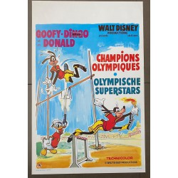 GOOFY AND DONALD OLYMPIC SUPERSTARS