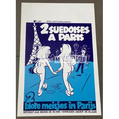 DEUX SUEDOISES A PARIS