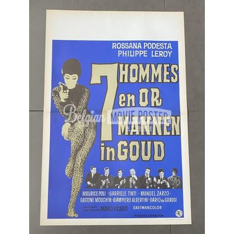 7 UOMINI D'ORO (SEVEN GOLDEN MEN)