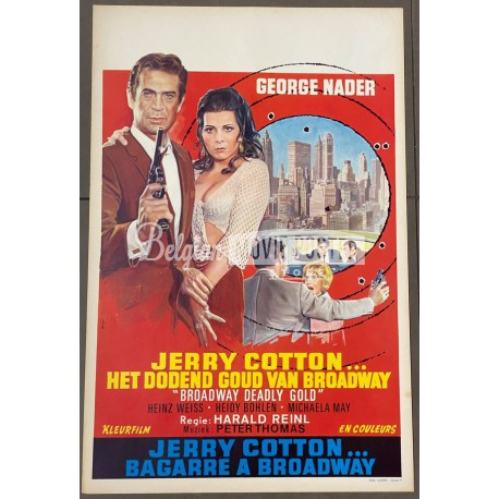JERRY COTTON: BROADWAY DEADLY GOLD