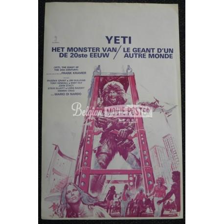 YETI : GIANT OF THE 20TH CENTURY