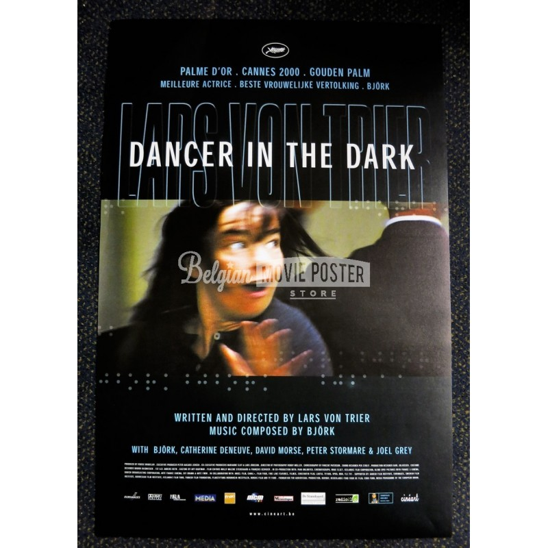 Dancer In The Dark Belgian Movie Poster Store