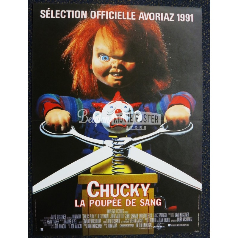 childs play 2 belgian movie poster store