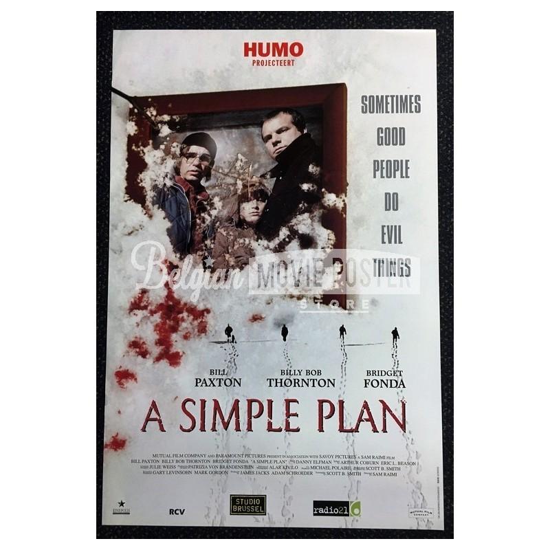 SIMPLE PLAN - Belgian Movie Poster Store