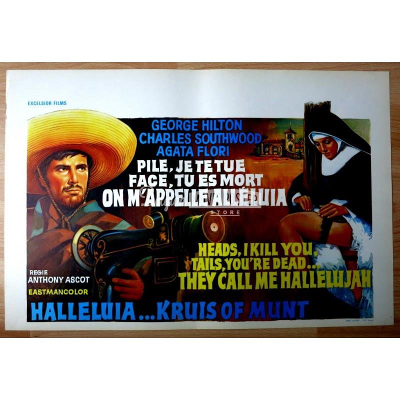 they call me hallelujah belgian movie poster store