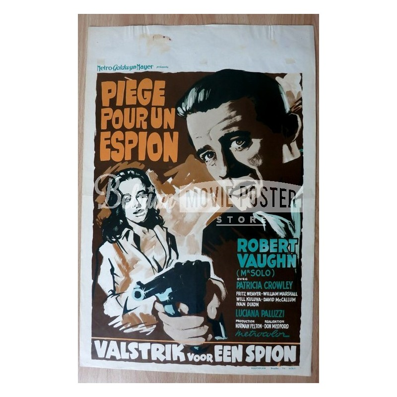 to trap a spy belgian movie poster store