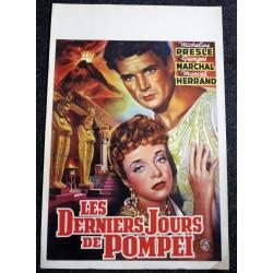 DERNIERS JOURS DE POMPEI