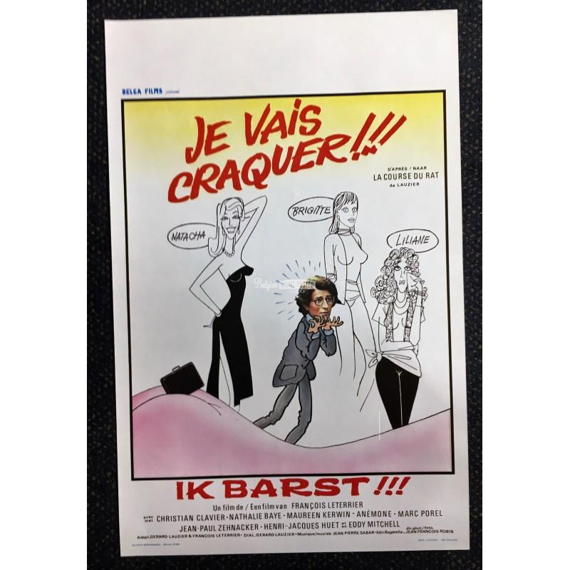 Je Vais Craquer (1979), un film de François Leterrier
