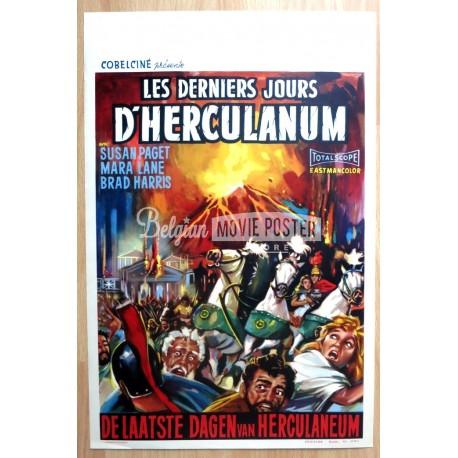 79 A.D. DESTRUCTION OF HERCULANEUM