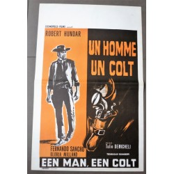 MAN AND A COLT