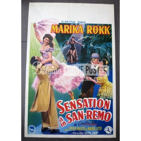 SENSATION IN SAN REMO